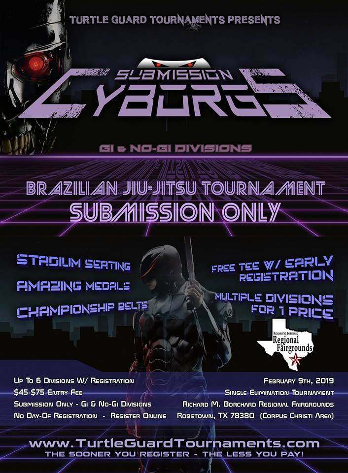 Events: Turtle Guard Tournaments Presents Submission Cyborgs